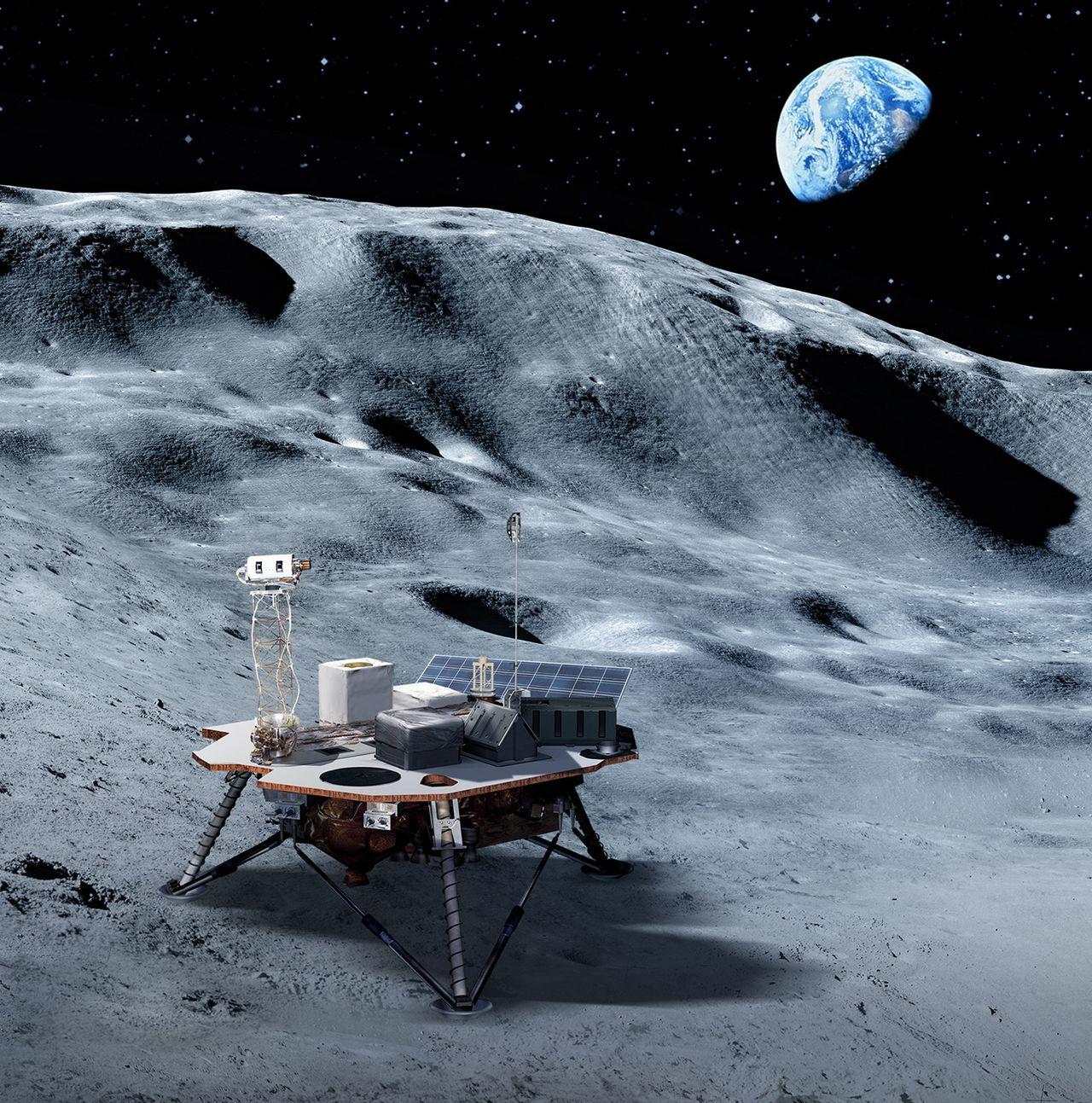 NASA har utsett de första företagen som ska landa på månen