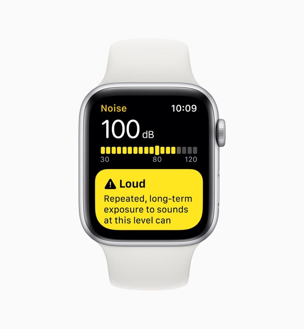 Apple Watch börjar varna för hög volym