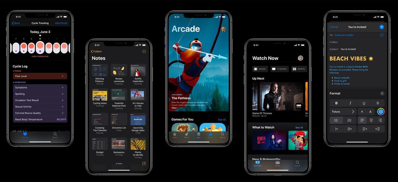 iOS 13 och iPadOS kommer inte till äldre Apple-prylar