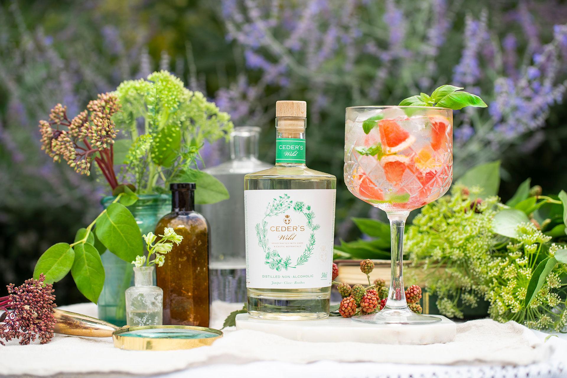 Två nya alkoholfria giner till Sverige