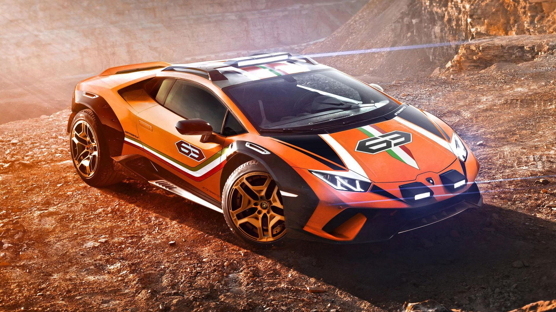 Lamborghini har byggt en offroad-version av Huracán