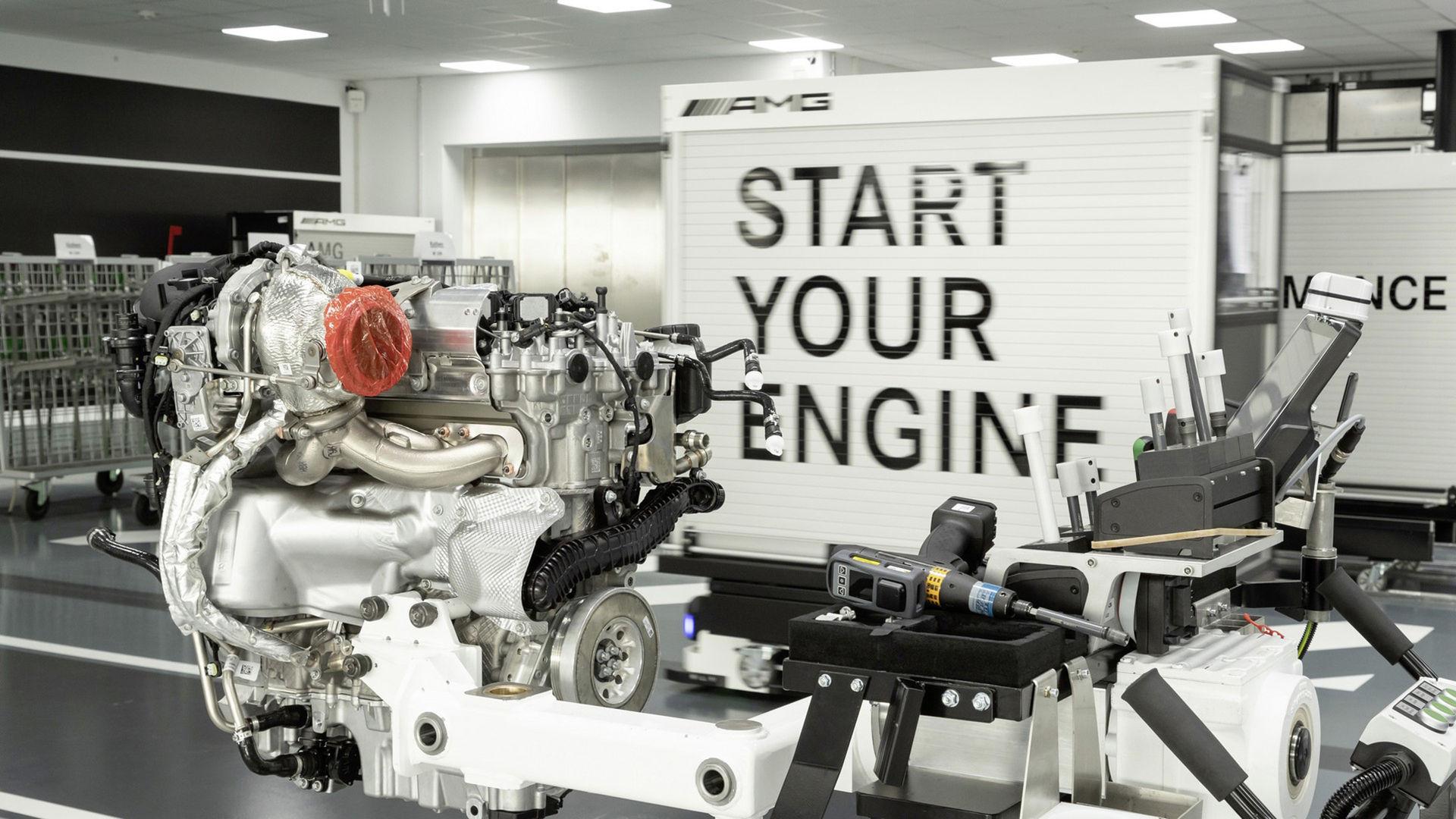 Mercedes-AMGs nya turbofyra ger hela 421 hästar