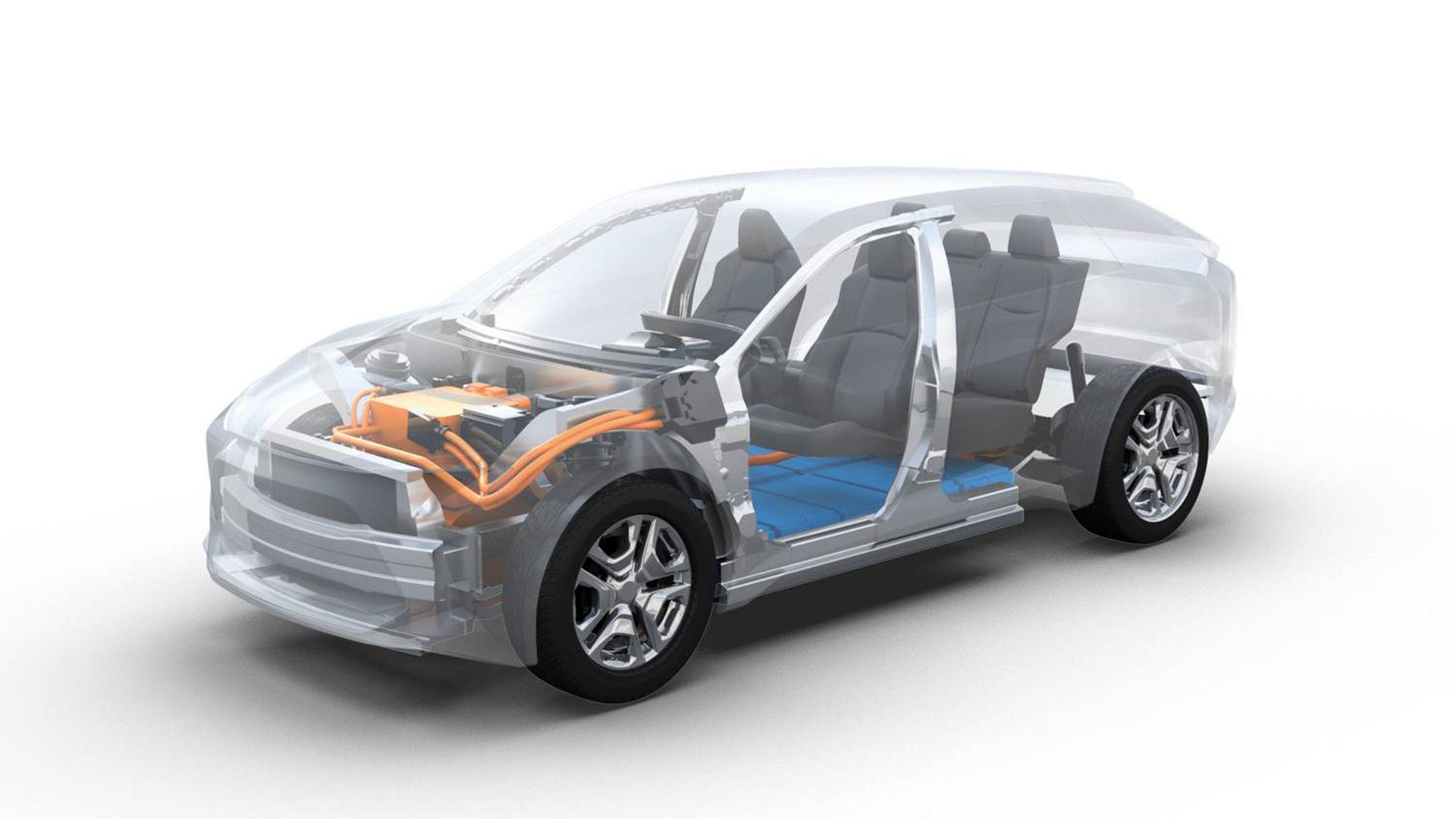 Toyota och Subaru ska ta fram gemensam elbilsplattform