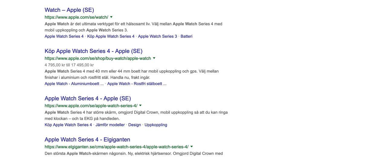 Google ska sluta visa sökresultat från samma källa