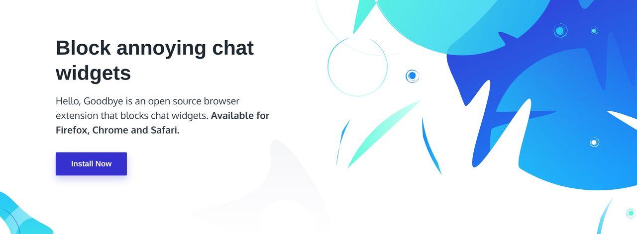 Tillägg som blockerar jobbiga chatwidgets