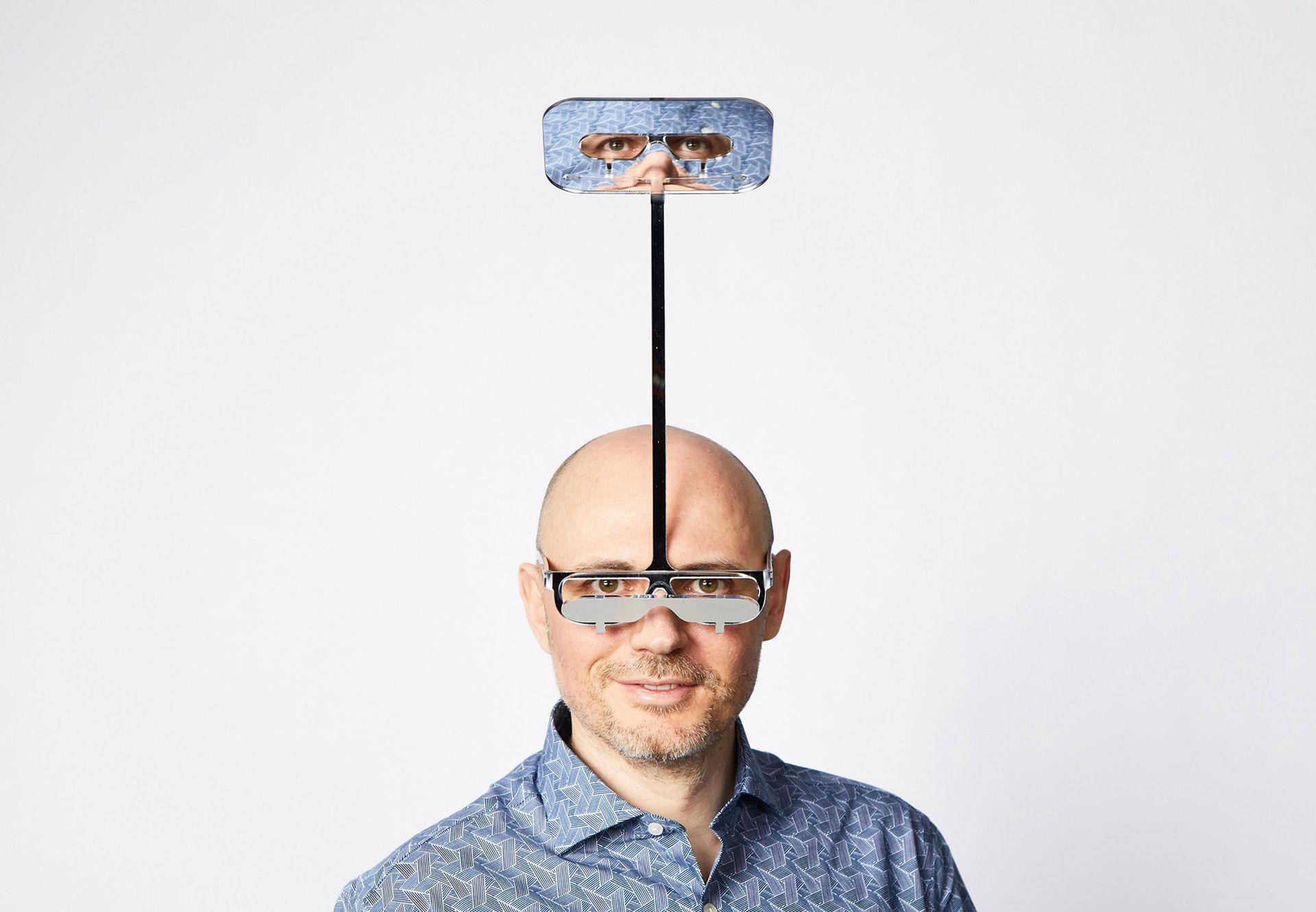 Periskop-glasögon för korta människor