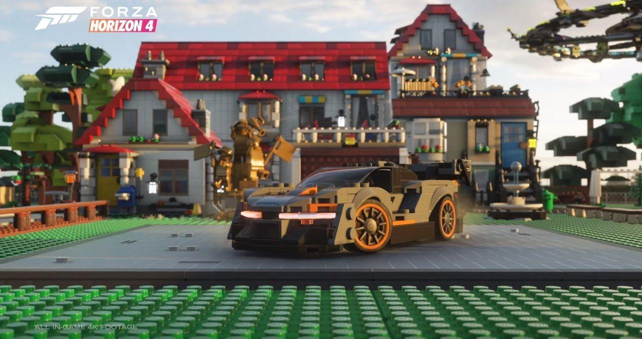 LEGO-bilar kommer till Forza Horizon 4