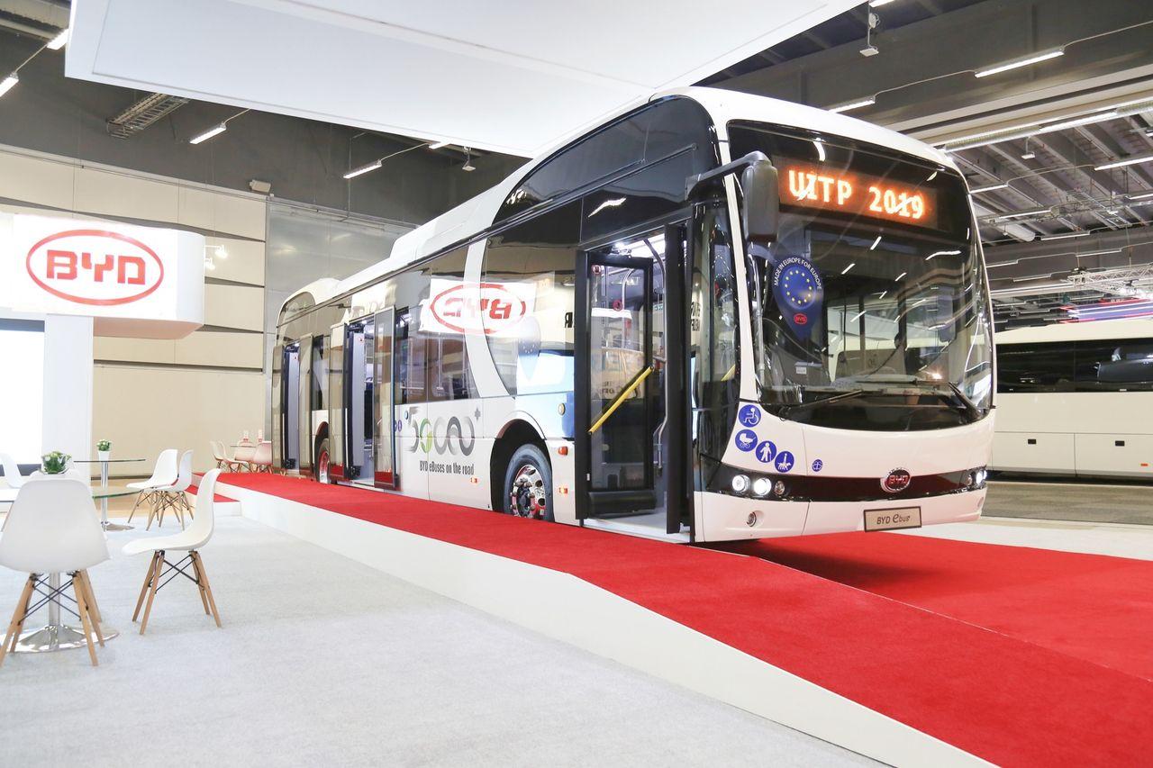 Piteå får elbussar från BYD