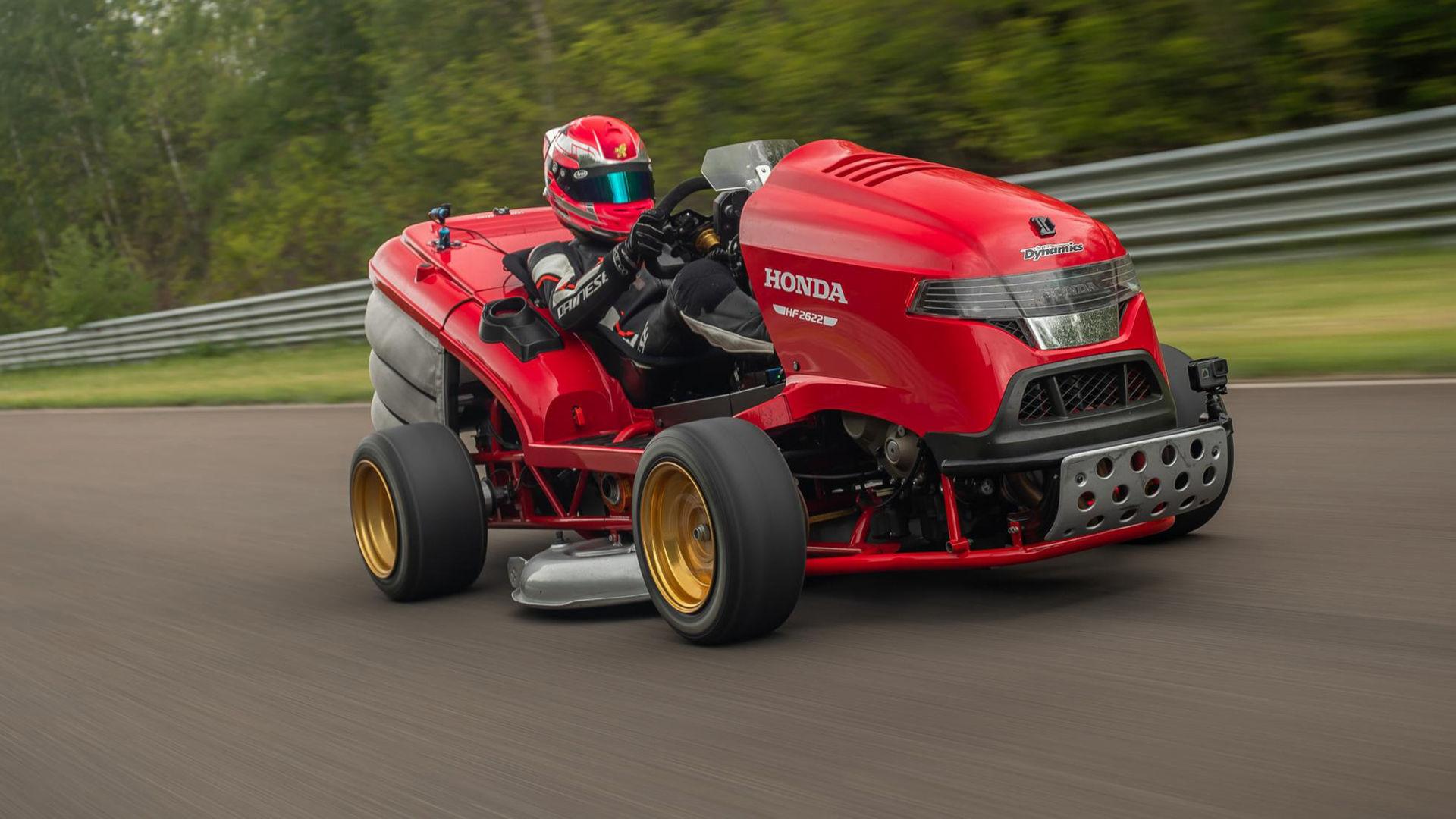 Hondas åkgräsklippare har slagit nytt rekord