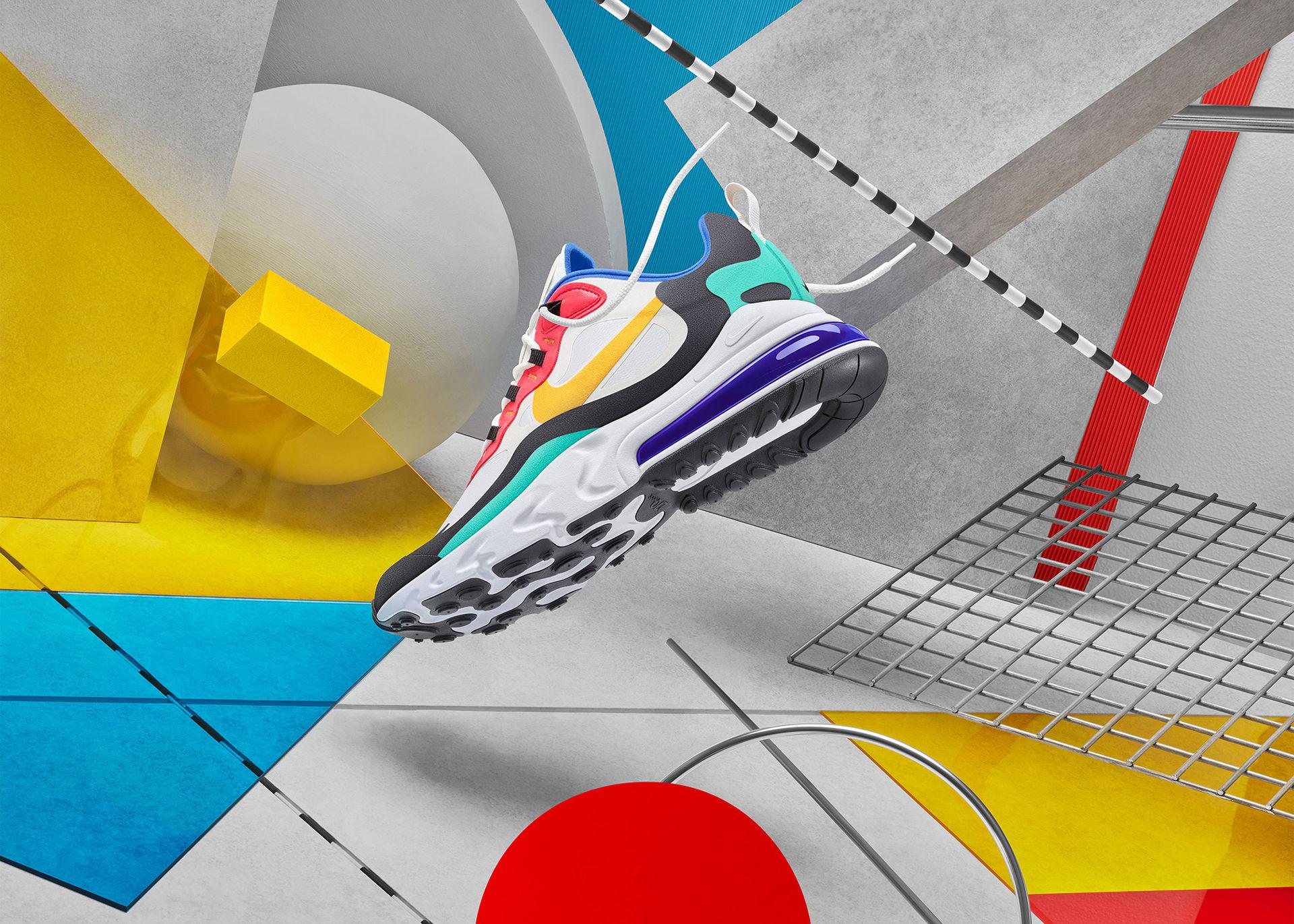 Nike presenterar Air Max 270 React