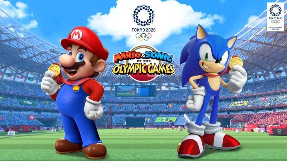 Nintendo presenterar Mario & Sonic at the Olympic Games Tokyo 2020