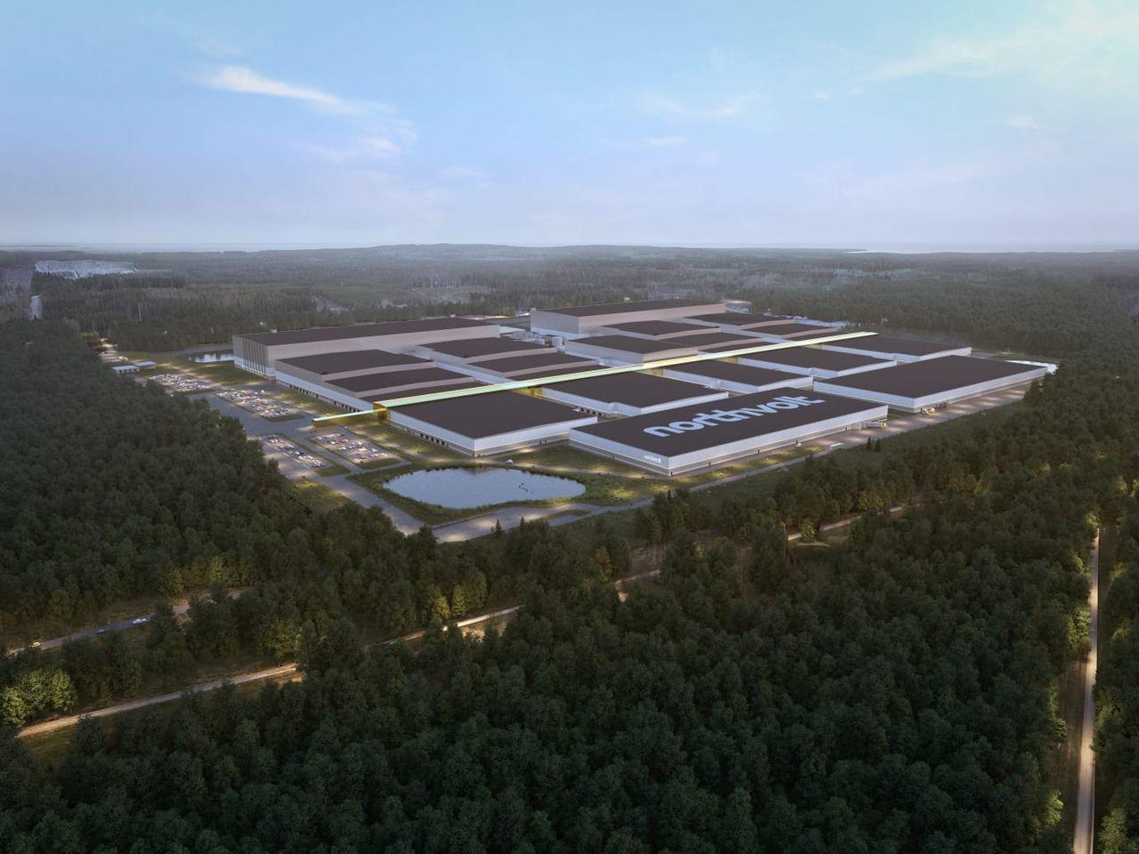 Finansieringen av Northvolts fabrik i Skellefteå säkrad
