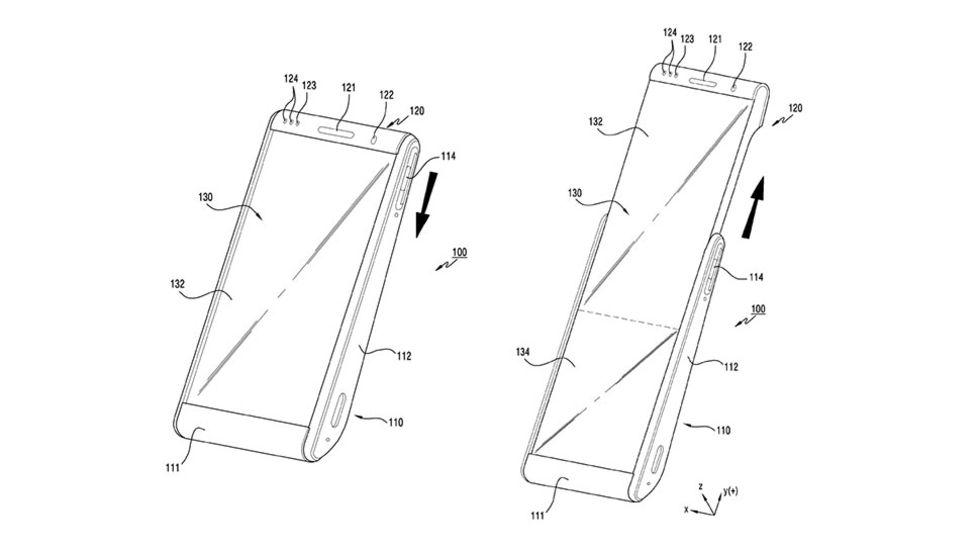 Samsung experimenterar med rullbara skärmar till mobiler