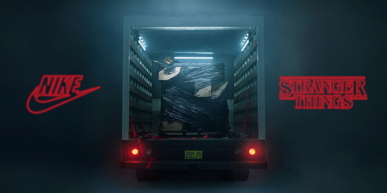 Nike gör Stranger Things skor. Temafest! | Tjock Garderoben