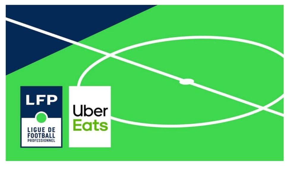 Frankrikes fotbollsliga döps om till Ligue 1 Uber Eats