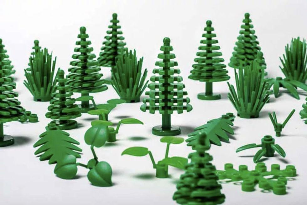 LEGO har svårt att hitta växtbaserad plast