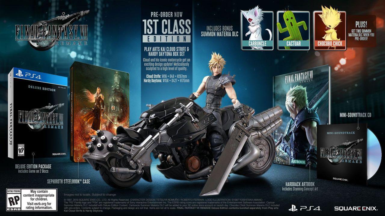 Nu kan du förboka exklusivt Final Fantasy VII Remake-paket