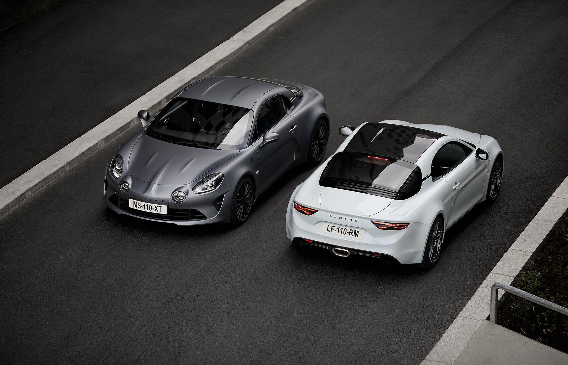 Alpine släpper ännu sportigare version av A110