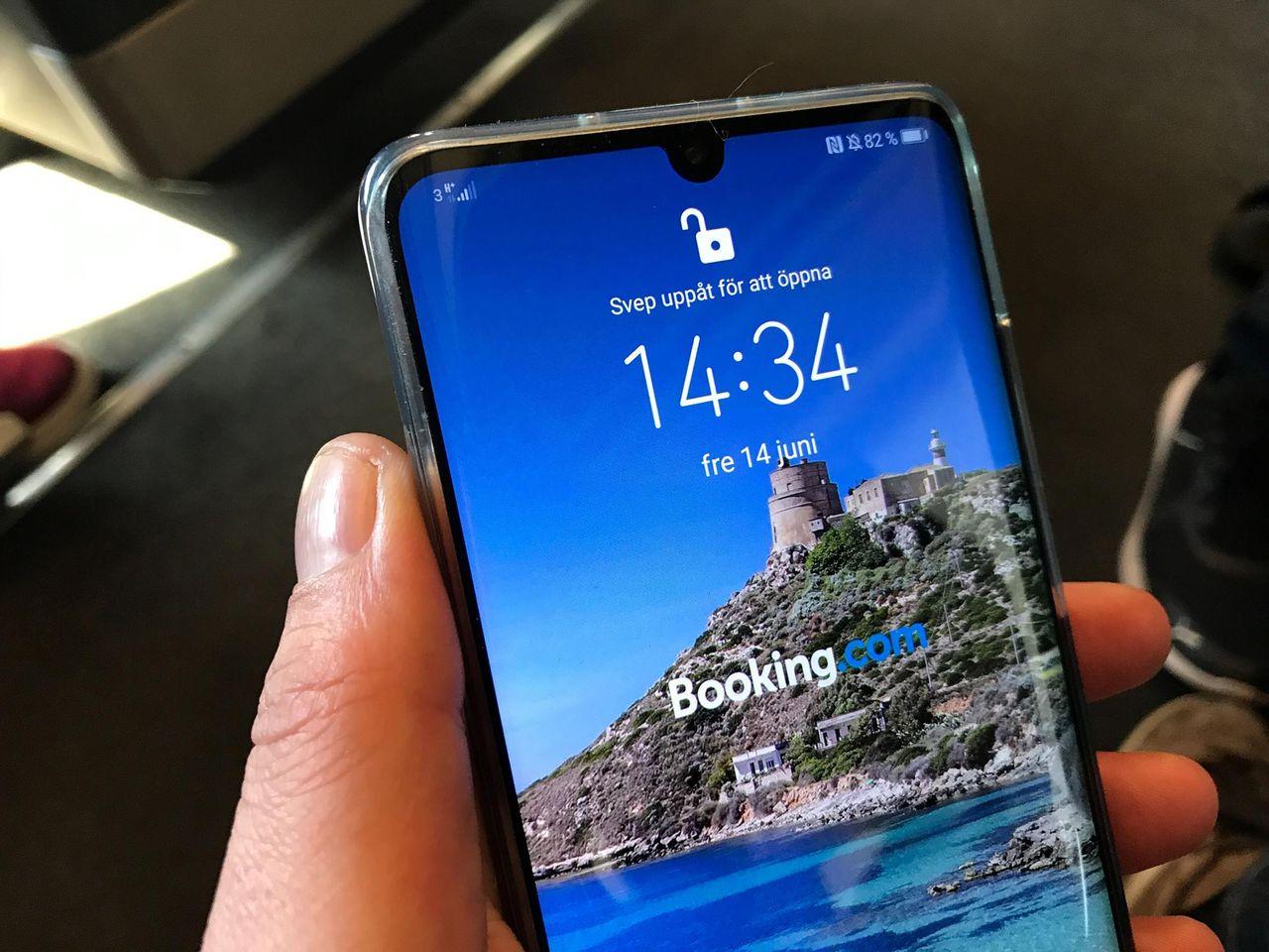 Låsskärmar på Huawei-telefoner blev reklamskyltar