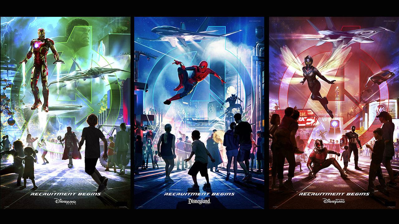 Disney bygger en Marvel-nöjespark