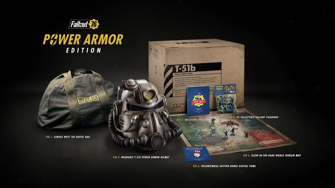 Tygväska äntligen levererad till Fallout 76 Power Armor-köpare