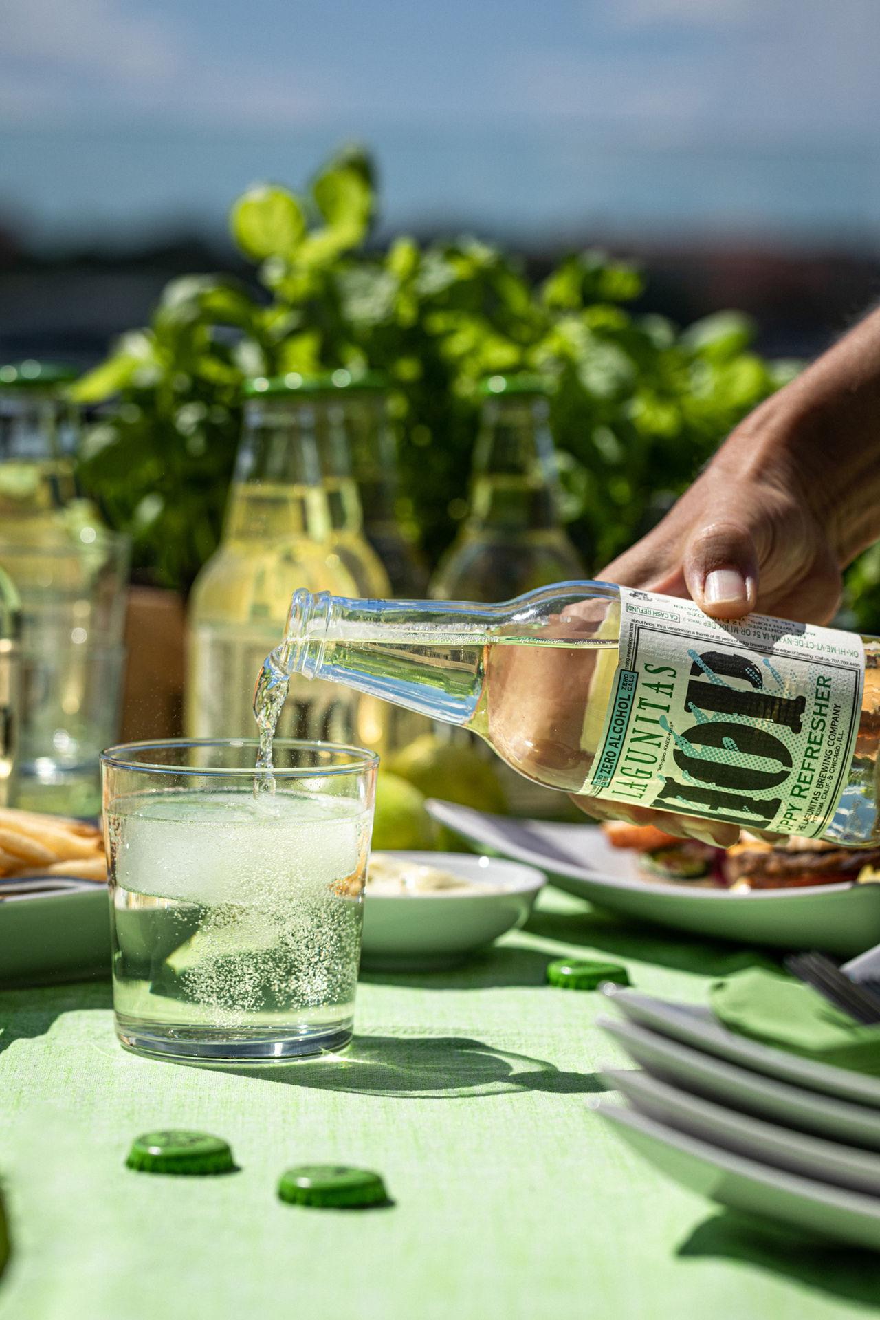 Alkoholfri dryck med smak av humle