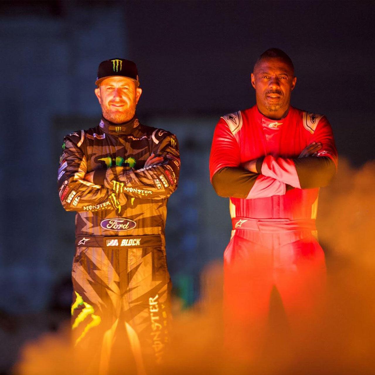 Ken Block och Idris Elba gör bilprogram ihop
