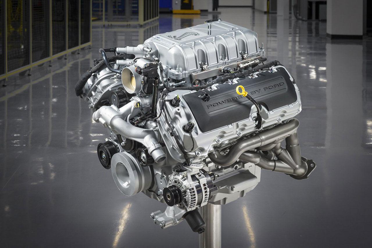 Motorn i Mustang Shelby GT500 ger 770 hästar