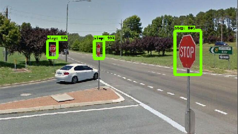 AI används för att hitta trasiga vägskyltar