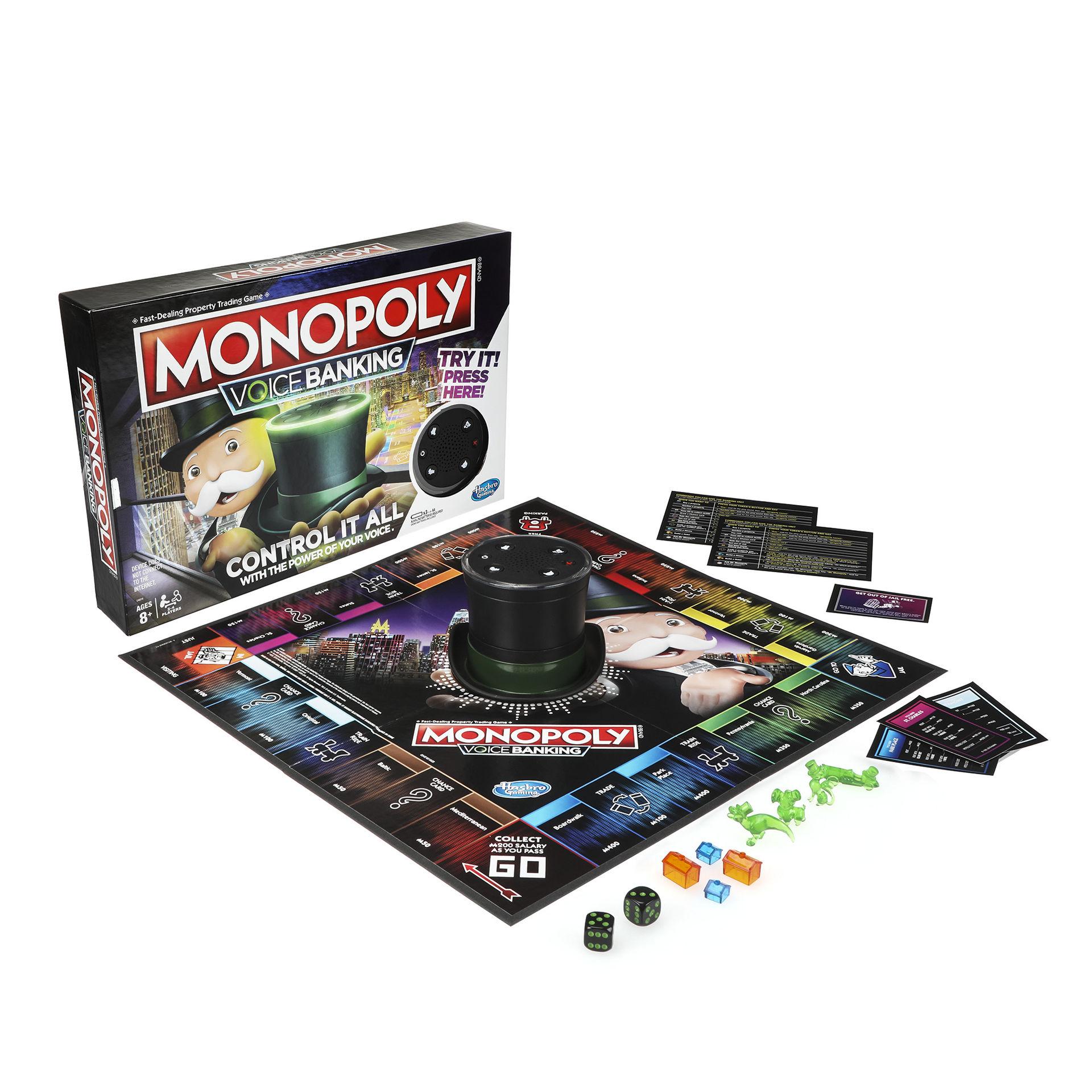 Snart kan du styra Monopol med rösten