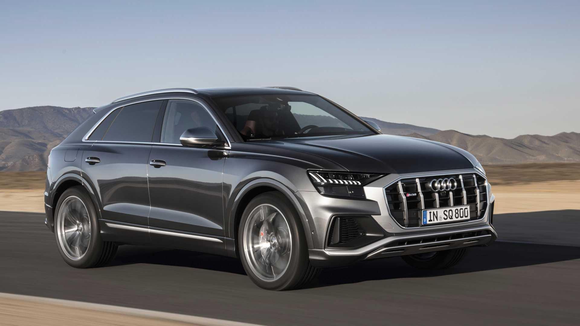 Audi rullar ut SQ8
