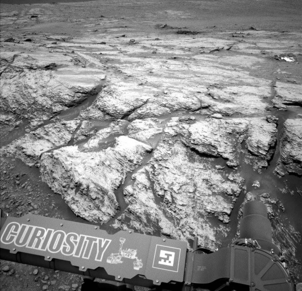 Curiosity hittar metangas på Mars igen