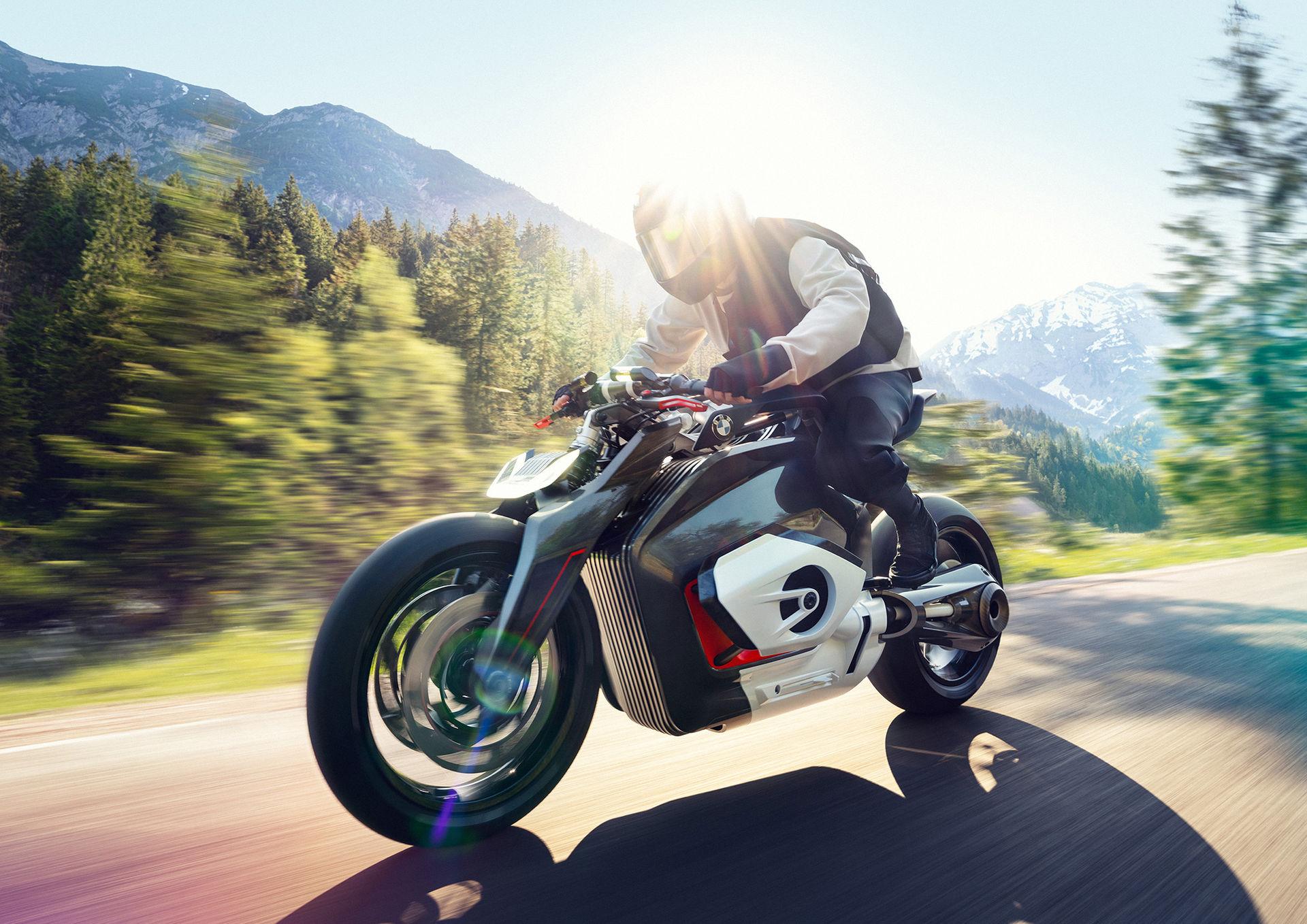 Nytt eldrivet motorcykel-koncept från BMW