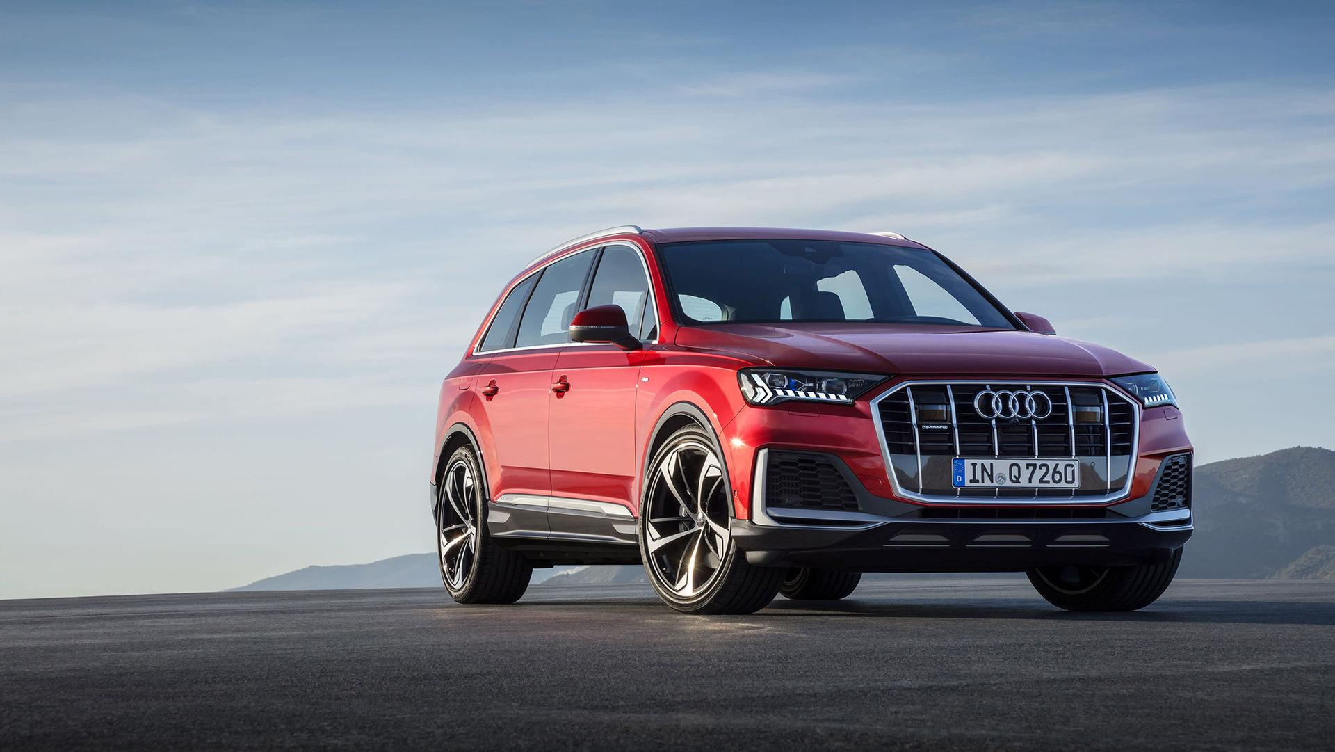 Audi lyfter Q7