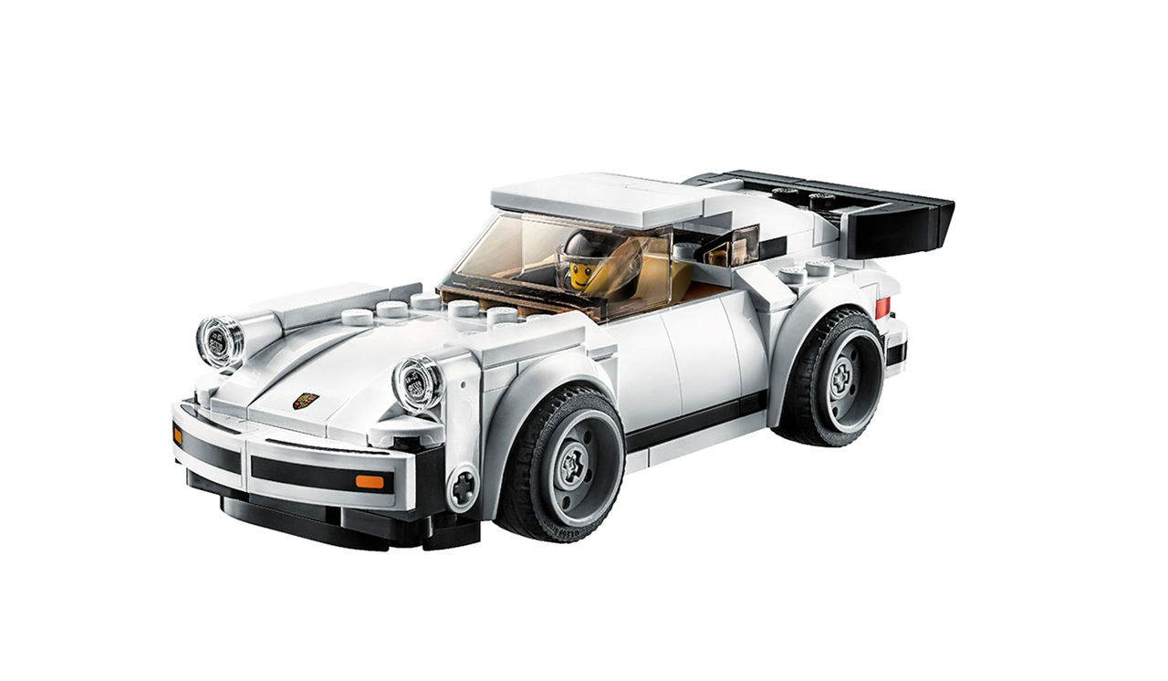 Porsche 911 Turbo 3.0 från 1974 nu som Lego