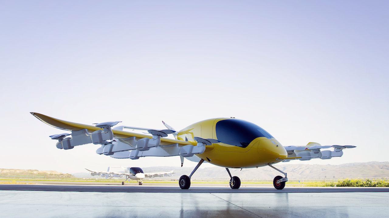 Boeing börjar samarbeta med Kitty Hawk