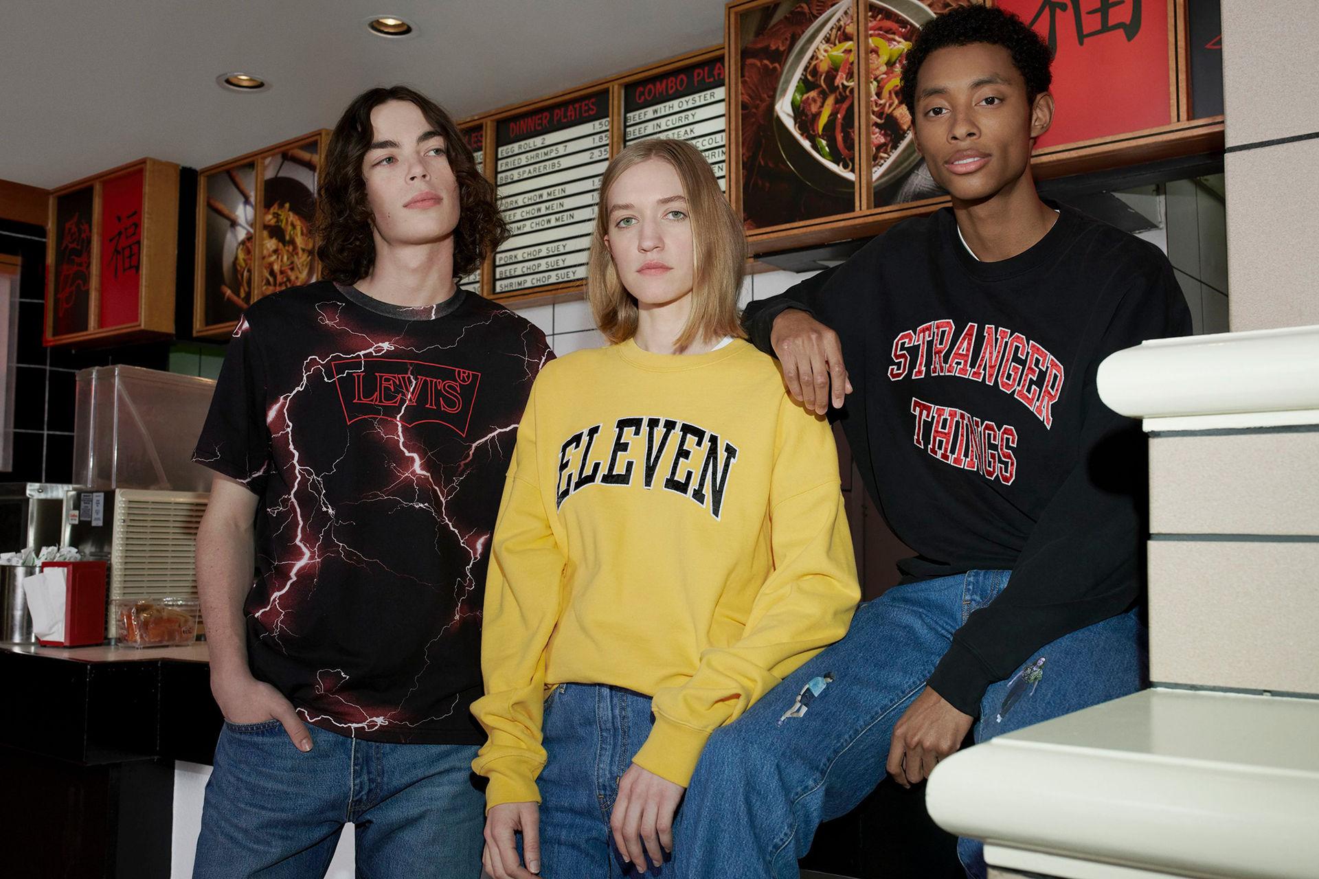 Levi's visar också Stranger Things-kollektion