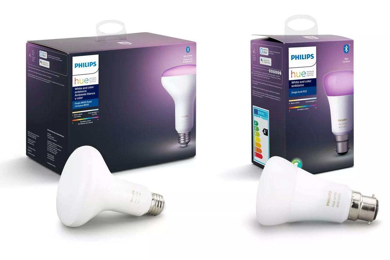Nu kommer Philips Hue-lampor med Bluetooth