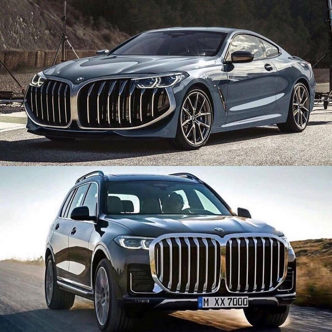 BMW:s designchef försvarar de stora grillarna