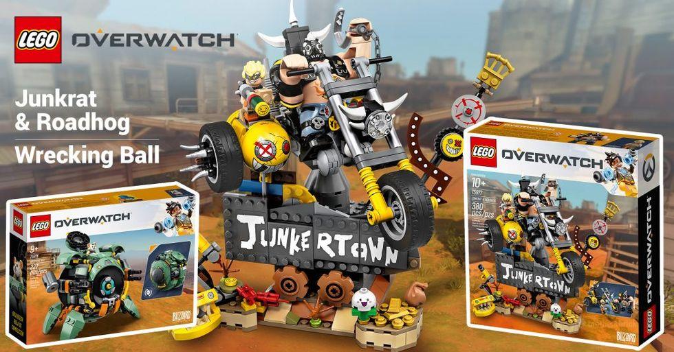 Lego har fler Overwatch-byggen på ingång