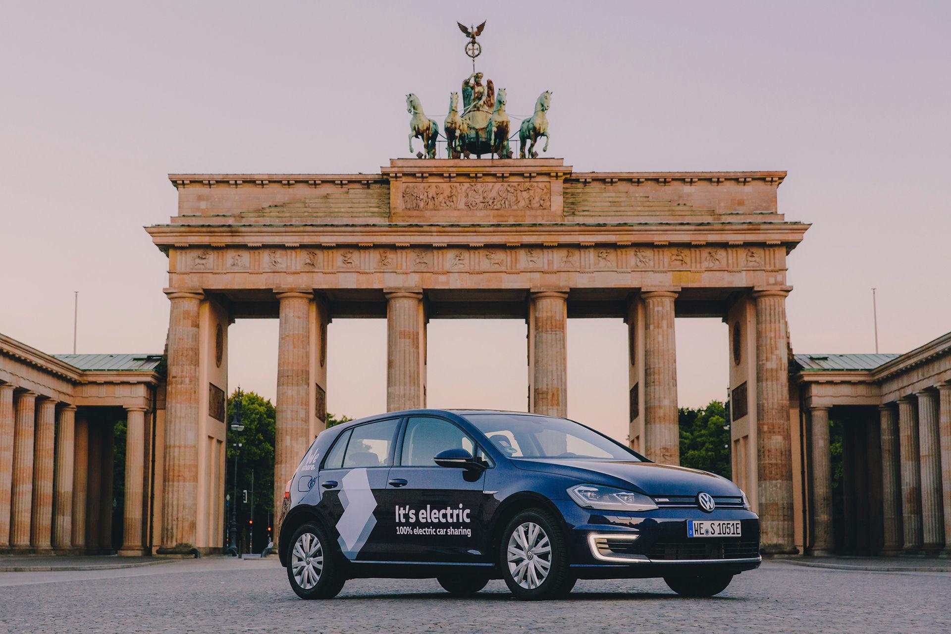 Volkswagens nya bildelningstjänst med elbilar lanserad