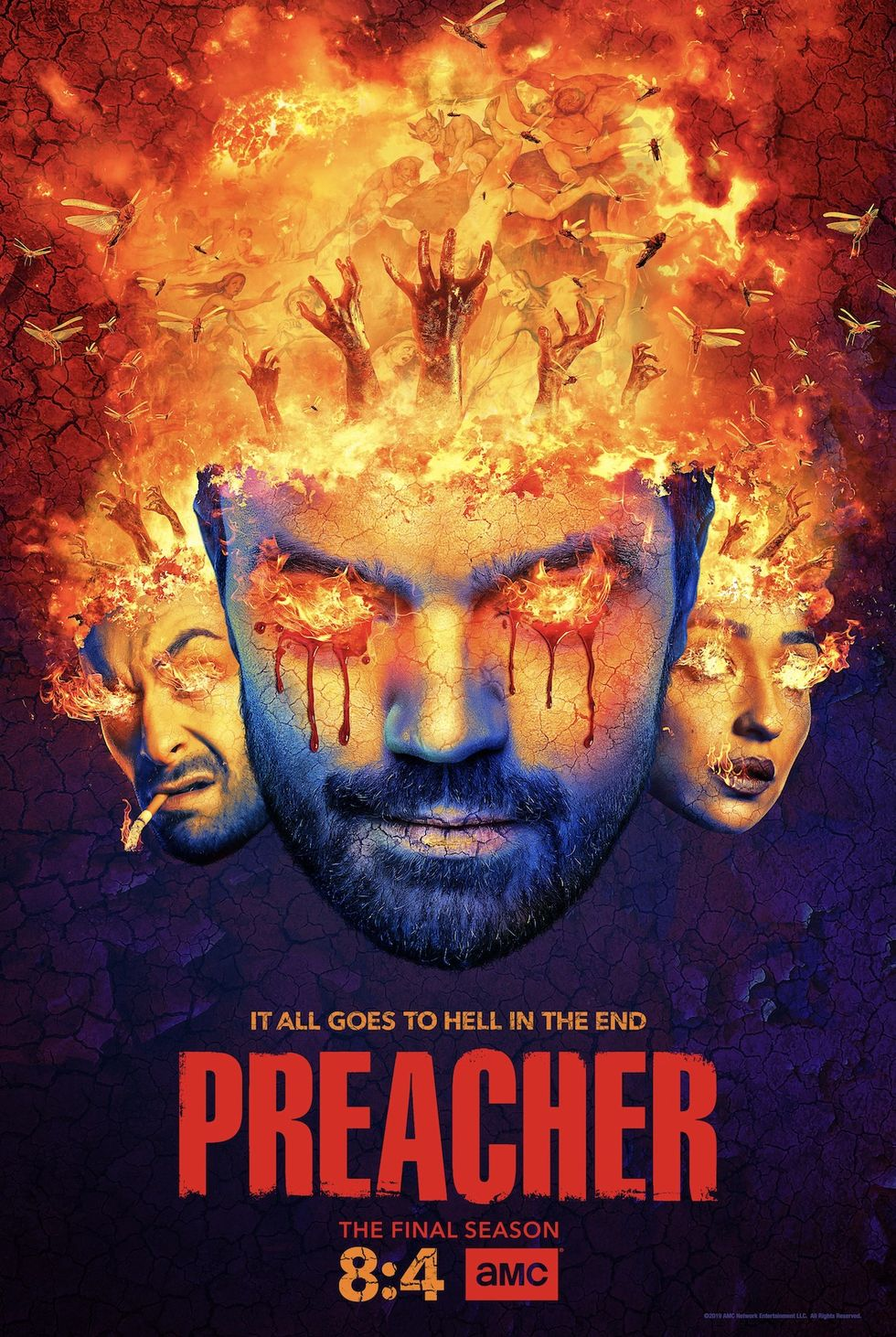 En teaser för den fjärde och sista säsongen av Preacher