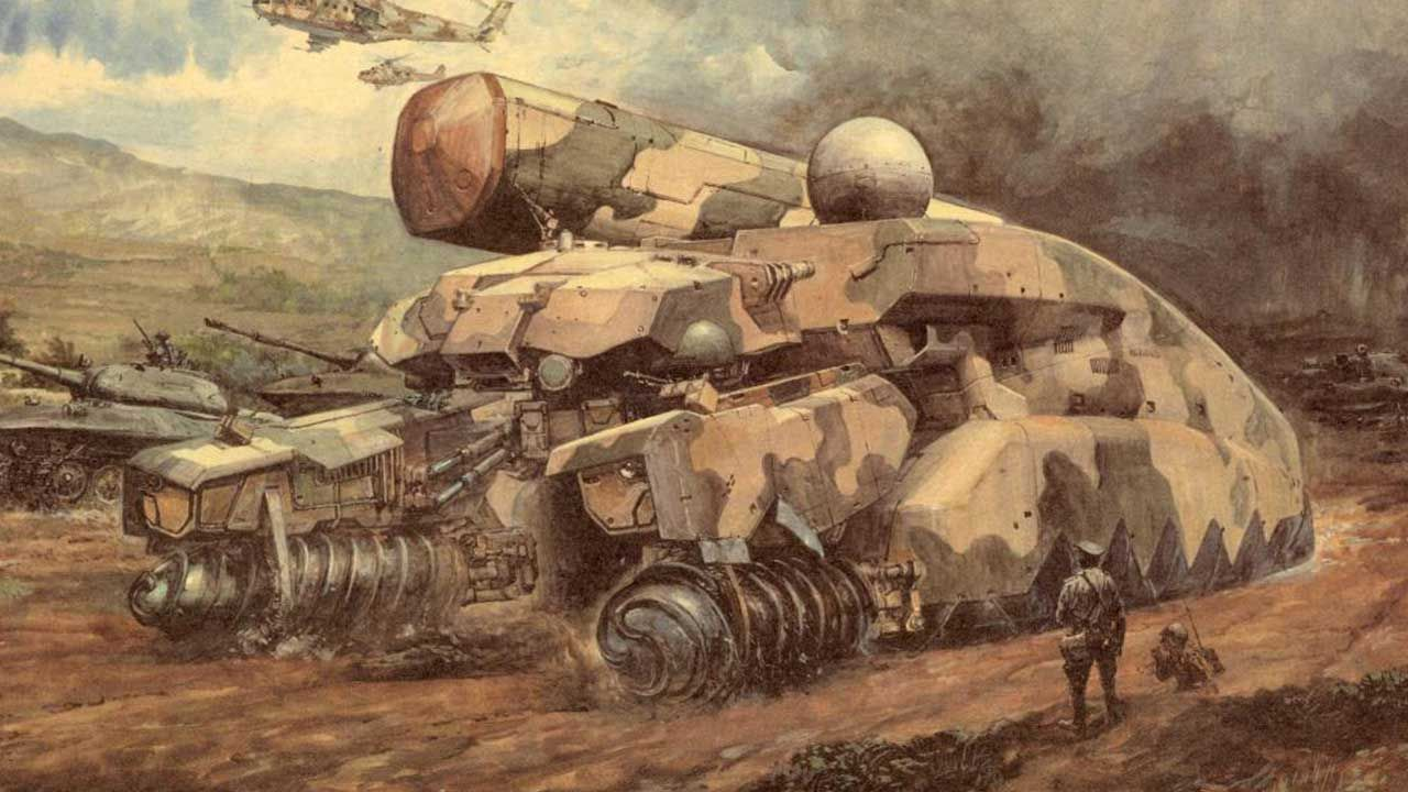 Ryssland gillar inte Metal Gear