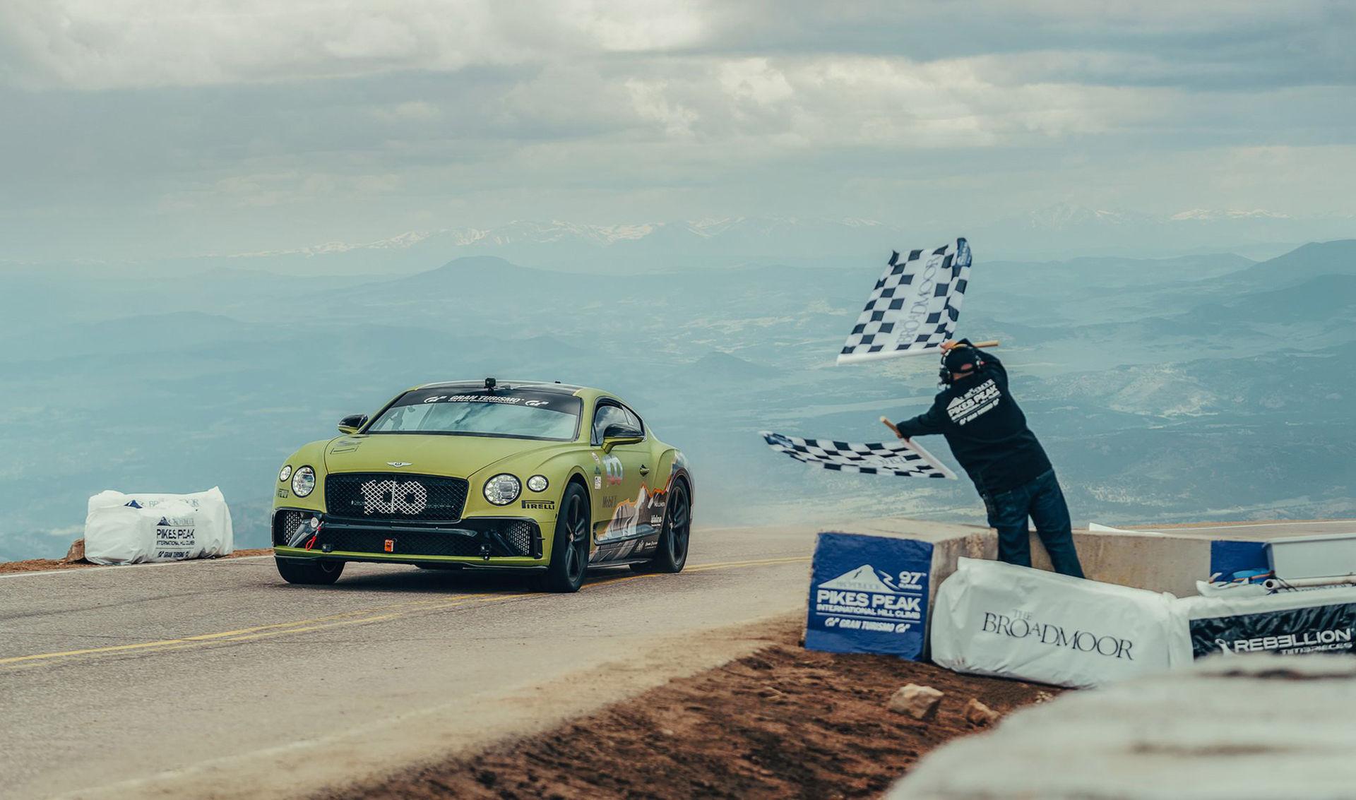 Bentley slår nytt rekord på Pikes Peak