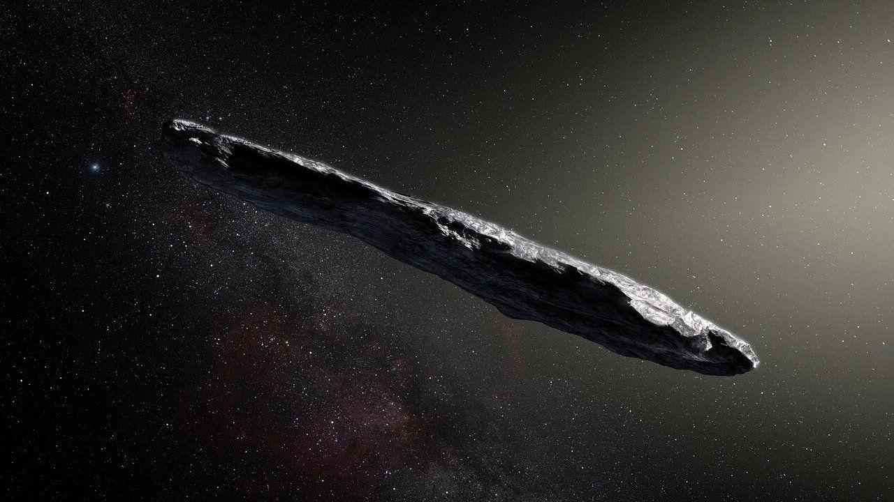 Oumuamua var inget utomjordiskt rymdskepp