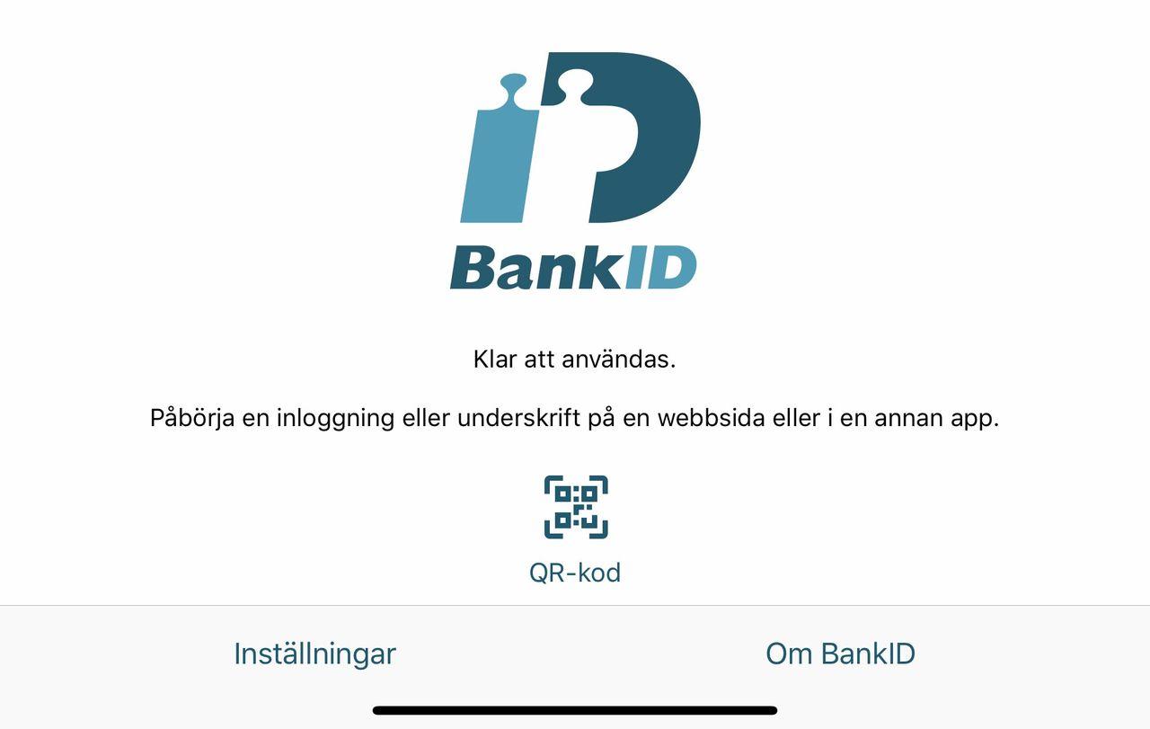 BankID fungerar nu med iOS 13