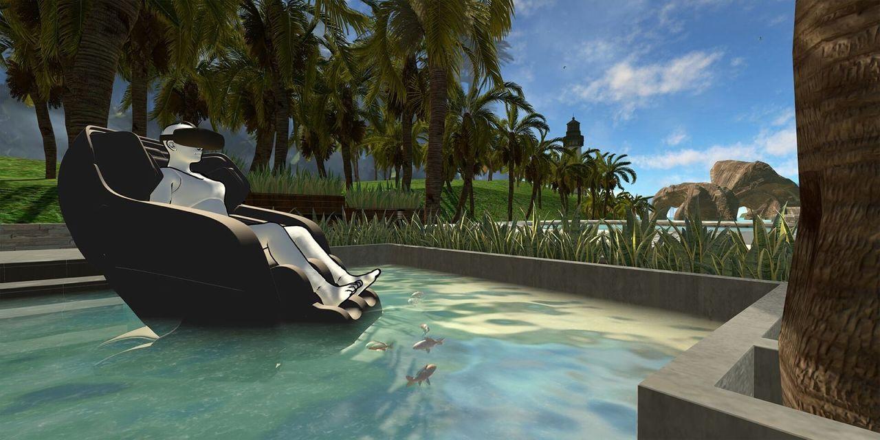 Snart kan du få massage i virtual reality-världar