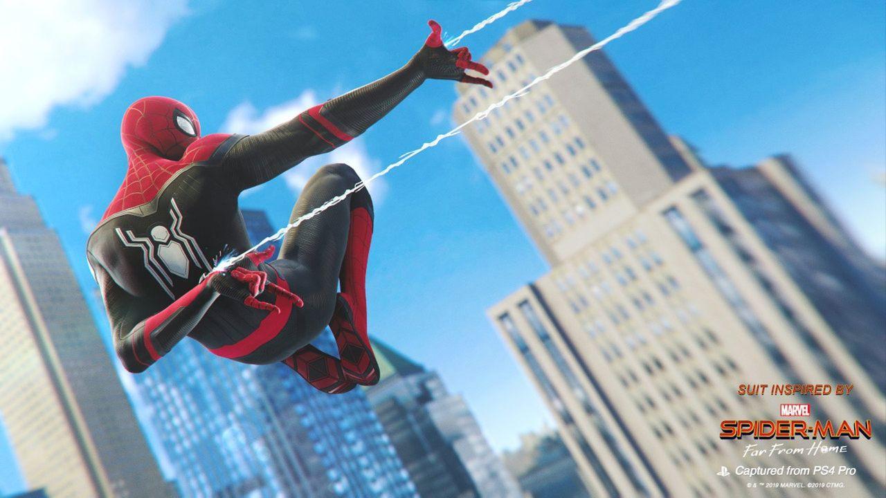 Dräkter från Spider-Man: Far From Home kommer till Spider-Man