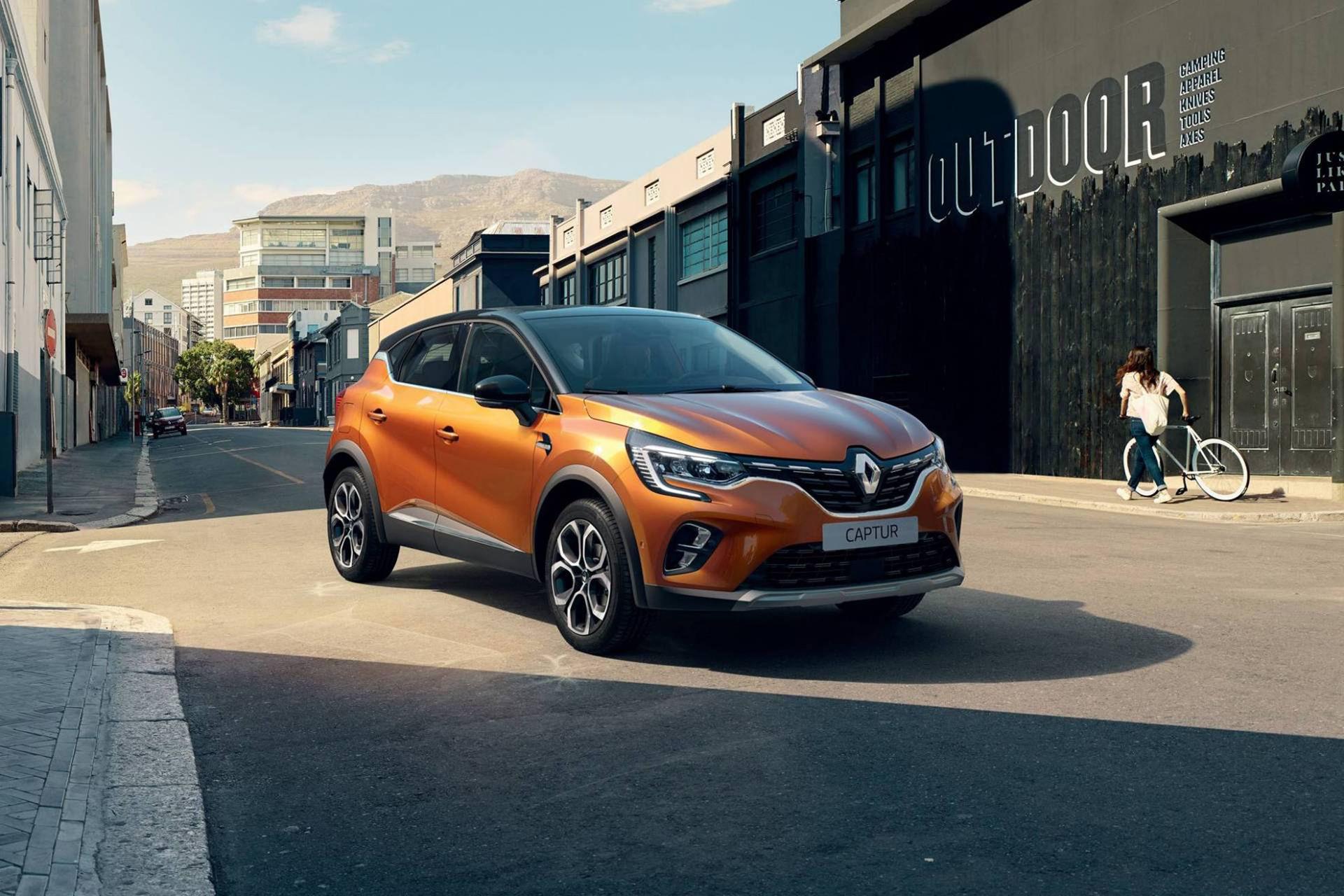 Renault rullar ut nya Captur