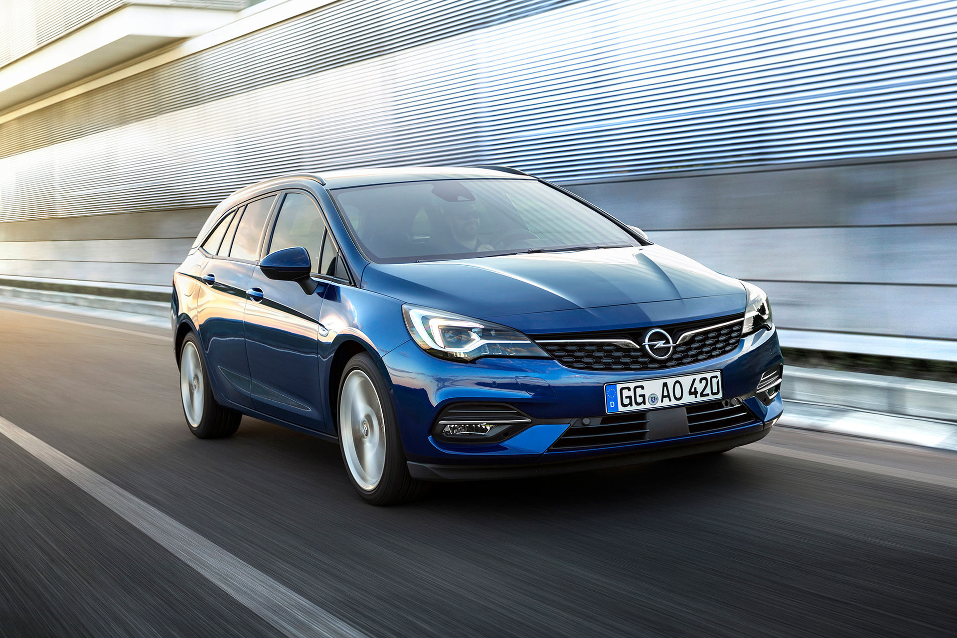 Det här är uppdaterade Opel Astra